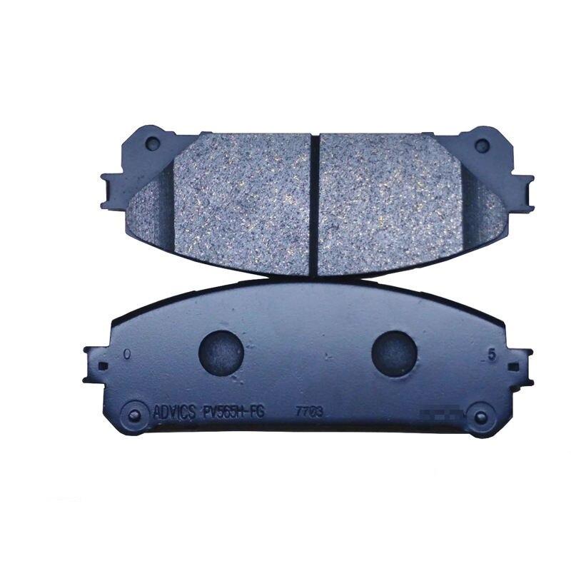 4 pièce/ensemble Voiture Plaquettes De Frein Avant pour Toyota Highlander Lexus RX 04465-48150