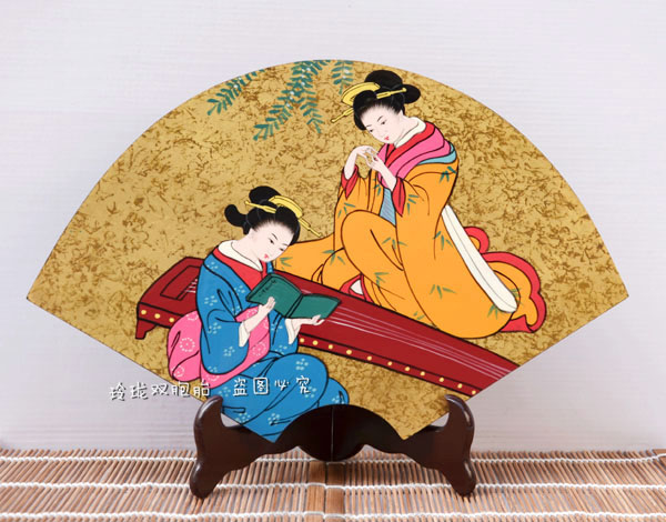 Decoration Arts crafts girl gifts get married Japanese tatami decoration craft ornaments Japan ladies decorative painting painti