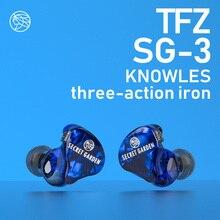 TFZ/ Secret Garden III, Lous unit Professional HIFI Earphons,Monitor In Ear Balanced Armature Earphone,Adjusting impedance