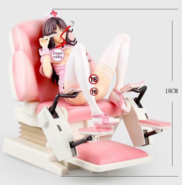 Аниме фигурка медсестра Nurse Momoi ПВХ 1