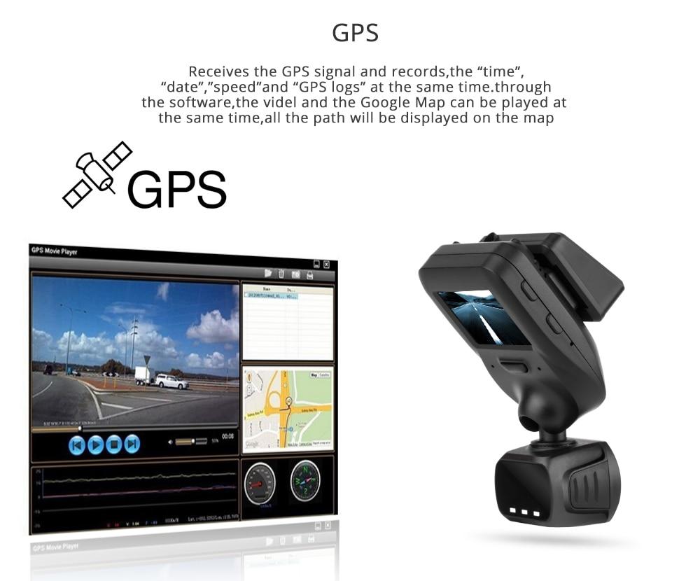 Conkim Nieuwe Collectie Mini Q9 Dash Camera Auto DVR Condensator 1296P 1080P Full HD Verborgen Auto Camera GPS LDWS Parking Modus + 32GB TF - 3