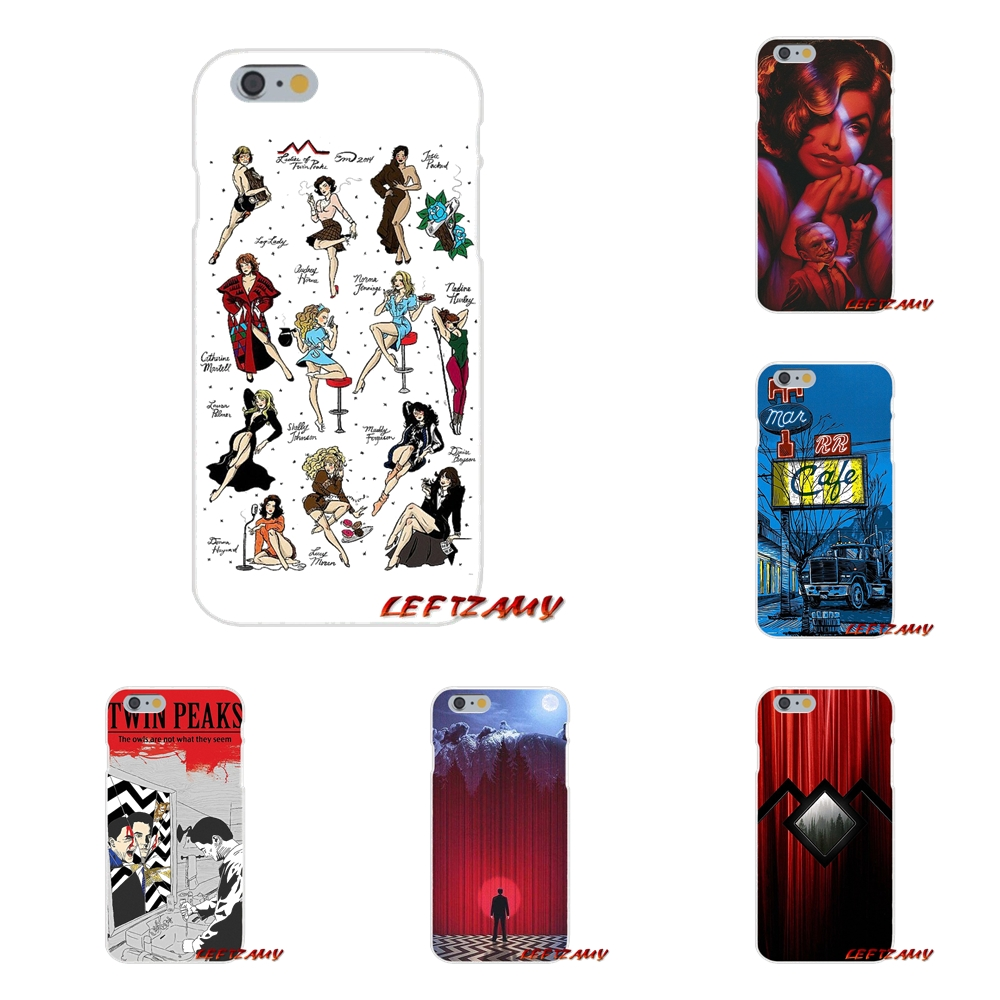Welcome To Twin Peaks For Samsung Galaxy S3 S4 S5 MINI S6 S7 edge S8 S9 Plus Note 2 3 4 5 8 Accessories Phone Cases Covers
