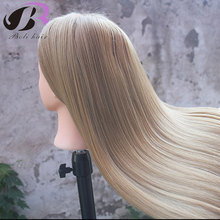 26 Training Head for Hairdressers Mannequin Hair Yaki Synthetic Hairdressing Doll Heads Cosmetology Manikin