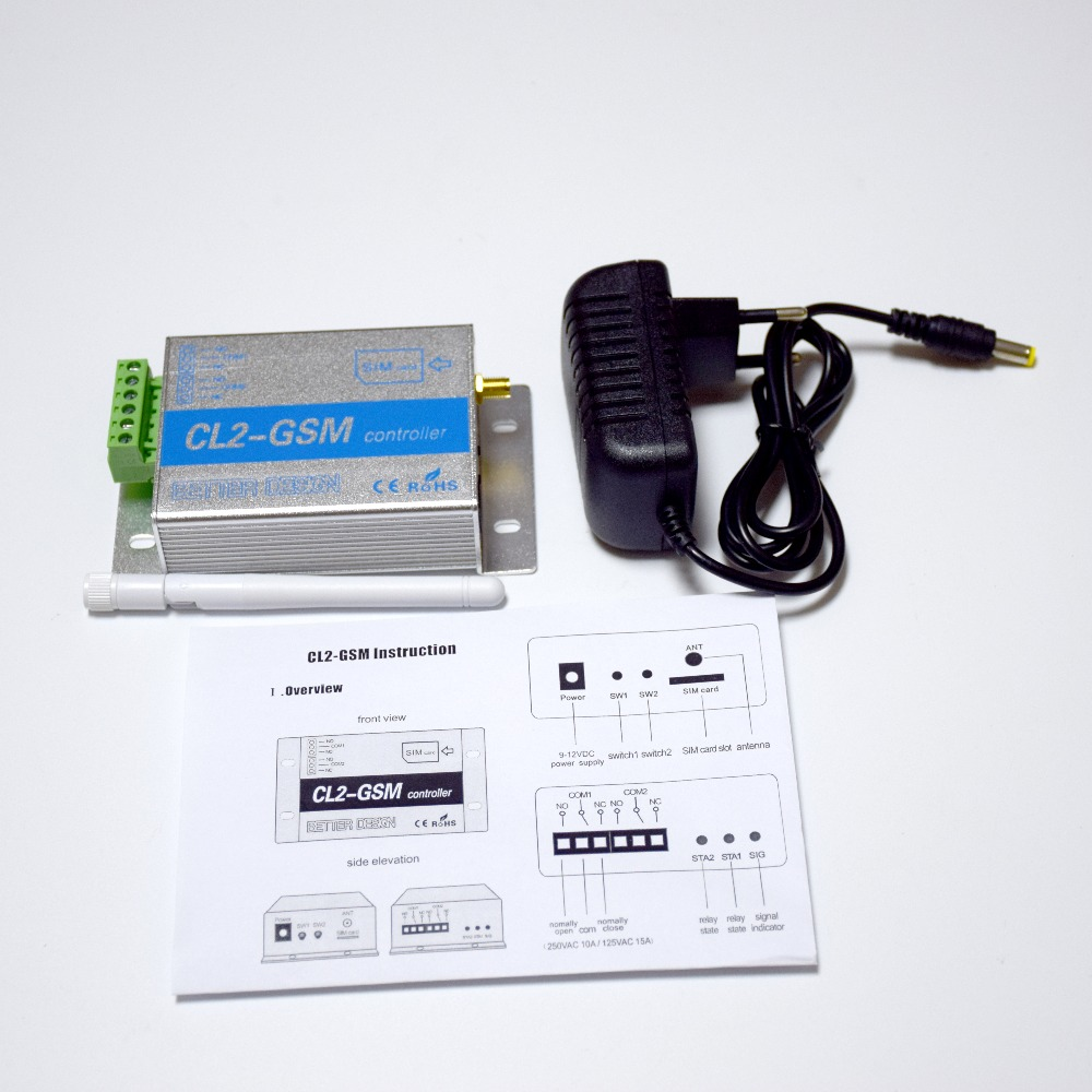 Hot Sale] Wireless GSM SMS Remote Controller CL2 GSM 2 way