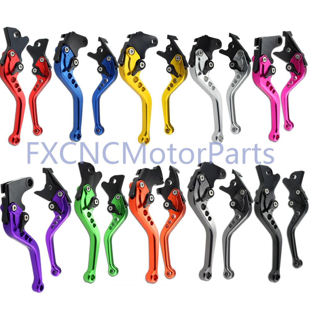 FXCNC CNC Short Adjustable Motorcycle Brake Clutch Levers For YAMAHA TDM 850 1991-2002 XJ 900 S Diversion 1995-2003 XJ 600 N S