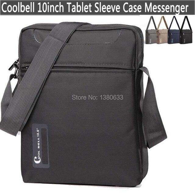 Марка Мода 9.7 10 дюймов Планшетный Ноутбук Сумка Tablet рукав Случае Сумка для iPad крышка crossbody Сумка для мужчины/Женщины