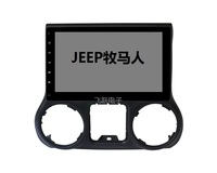 10.1 Quad core Android 8.1 Car GPS radio Navigation for Jeep Wrangler 2008 2016 with 4G/Wifi DVR OBD