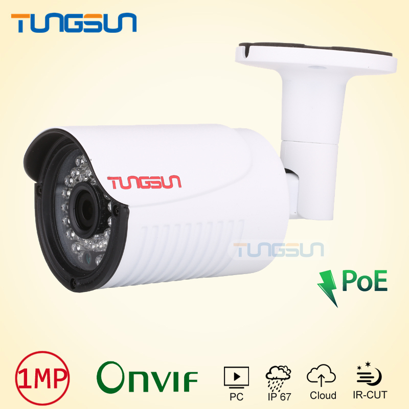 NEW Quality Picks IP Camera 720P 960P POE CCTV infrared Aluminum Bullet Metal Waterproof Outdoor ONVIF Cam Security Surveillance cctv camera metal housing cover case new ip66 outdoor use casing waterproof bullet for ip camera hot sale white color wistino