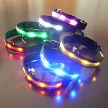 LED Nylon Flashing Dog Collar