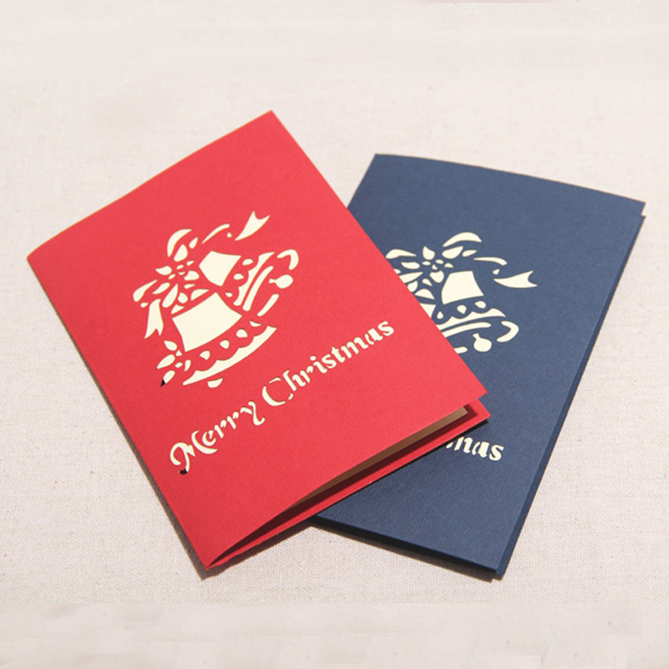 Creative Christmas Cards 10pcs Handmade Christmas Tree Design Merry Christmas Cards Creative Kirigami Origami 3d Pop Up Greeting Cardjpg