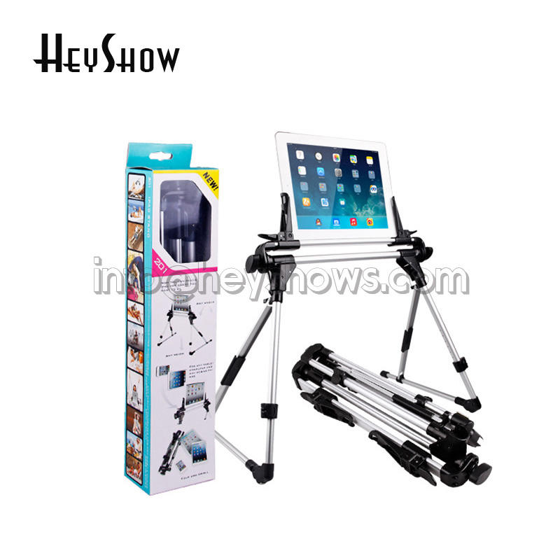все цены на Foldable Alloy Tablet Display Stand Universal Phone Desk Holder Adjustable Lazy Bed Mount For IPhone IPad Kindle Galaxy Tab
