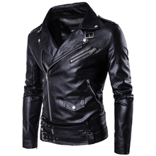 MarKyi fashion mens faux fur coats slim fit long sleeve motorcycle leather jacket for men Eu size 5xl imported jackets