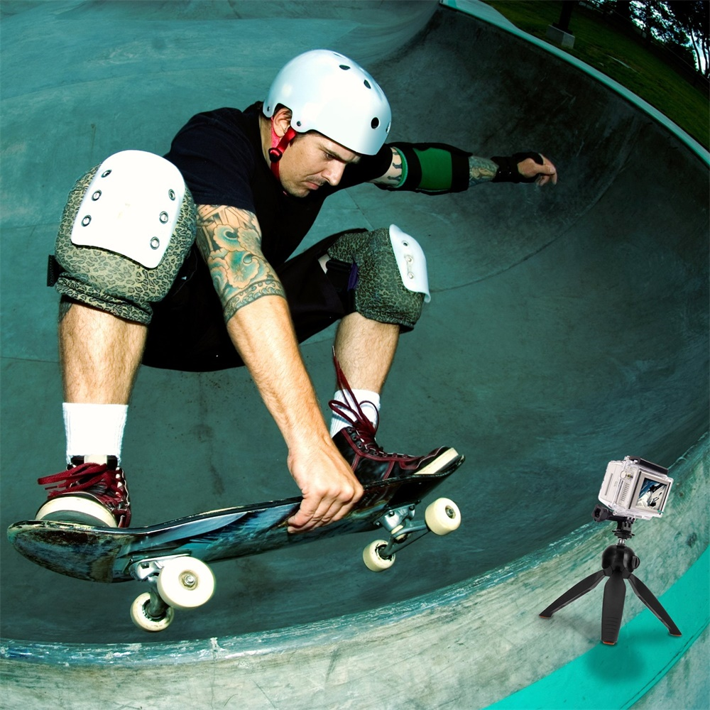 Phone Tripod Camera Stand Premium Mini Selfie Hand  Tabletop Tripod -8
