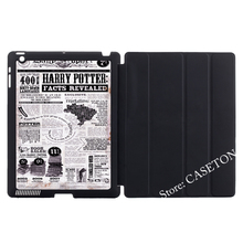 Harry Potter Facts Revealed Smart Cover Case For Apple iPad Mini 1 2 3 4 Air Pro 9.7 Wake Sleep(China (Mainland))