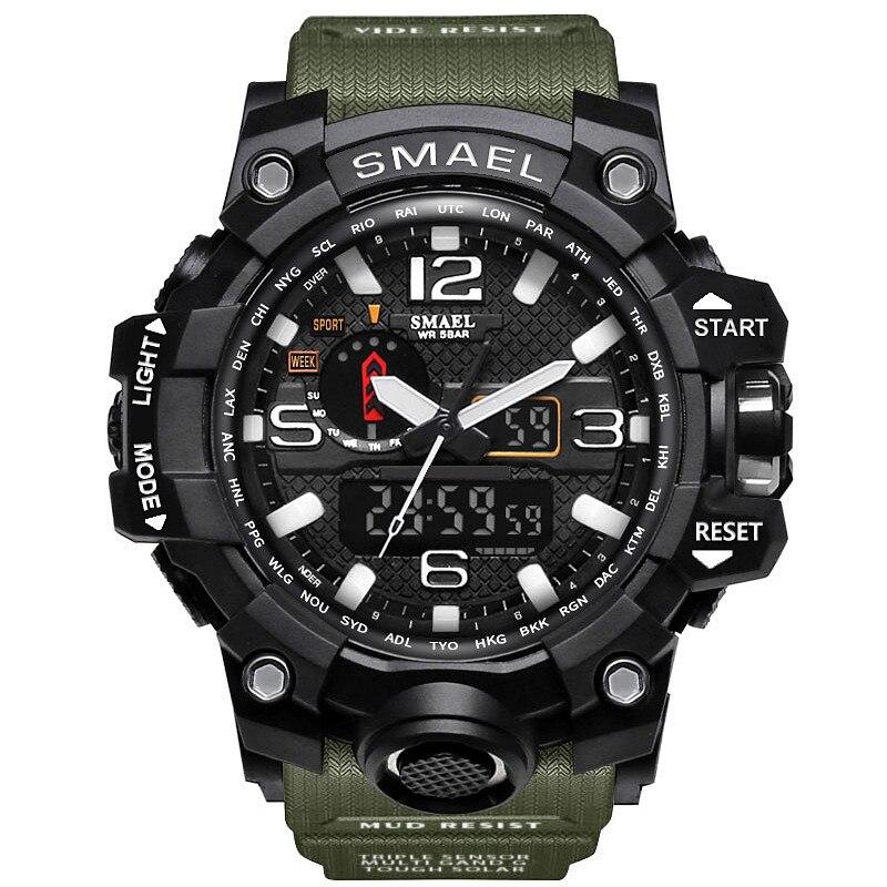Sport Smart Wrist Watch Fitness Men G Shock Electronic LED Wristwatch Waterproof Watches Intelligent Clock Dropshippng