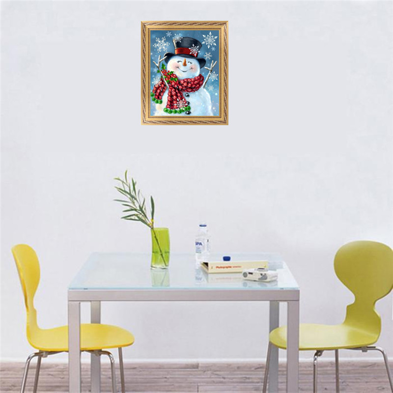 FineTime Diy Diamond Painting christmasGift diamond embroidery partial SantaClaus diamond mosaic christmas decorations for home in Diamond Painting Cross Stitch from Home Garden