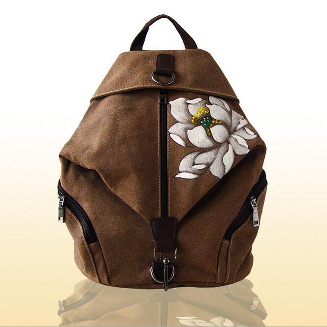 new bag 062917 women national china backpack double shoulder bag