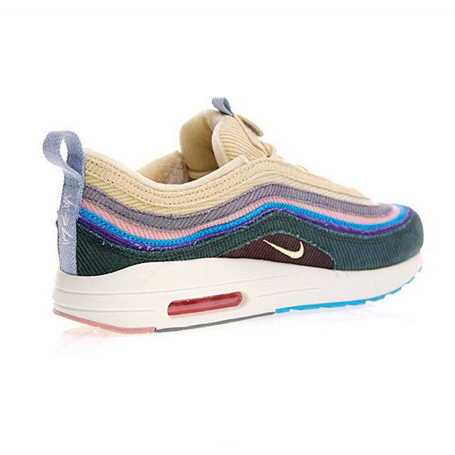 Original New Arrival Authentic Nike Air Max 1/97 VF SW Mens Running Shoes Sport Outdoor Walking Jogging Sneakers AJ4219-400 4
