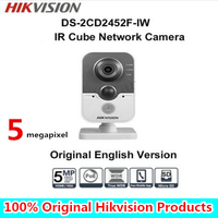 HIKVISION DS 2CD2452F IW English Version Vision IP Camera 2MP Support POE Network WIFI Camera IP