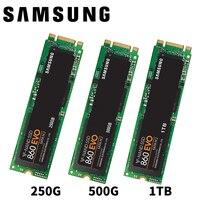 SAMSUNG 860EVO 860 EVO M.2 SATAIII 250GB 500GB 1TB 250G 500G M.2 Internal Solid State Drives SSD 6Gb/s SATA