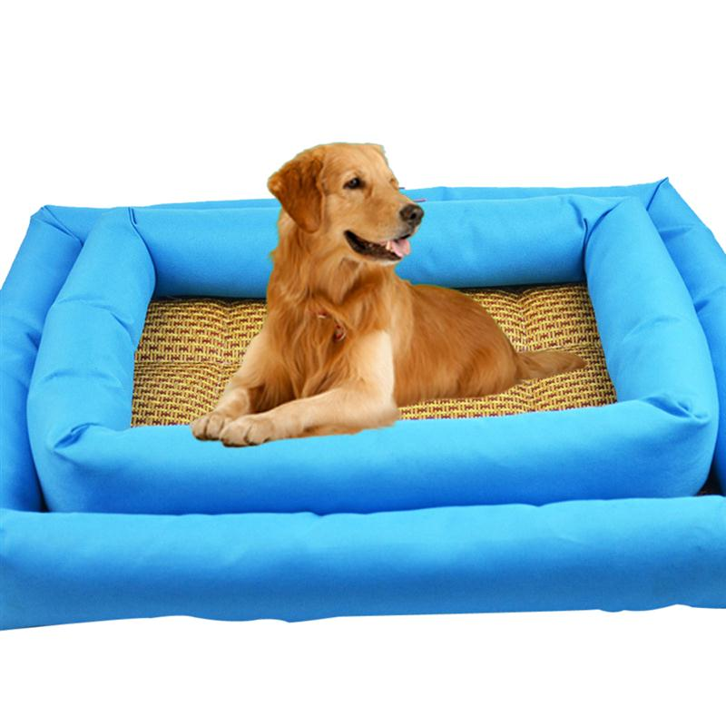 summer pet mat breathable dogs cats summer cooling beds sleeping mat heat dissipation