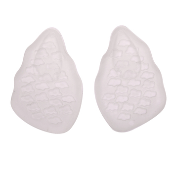 Forefoot Pad High Heels Thicken Arch Support Cushion Soft Half Insole Silicone Gel Front Feet Shoe Pads Foot Care