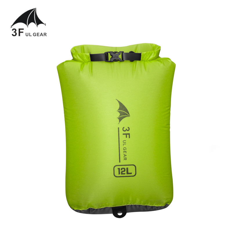 3F UL GEAR 15D 30D Cordura Ultralight Drifting Swimming Debris Clothes Sleeping Bag Storage Bag Waterproof Bag Swimming Bag