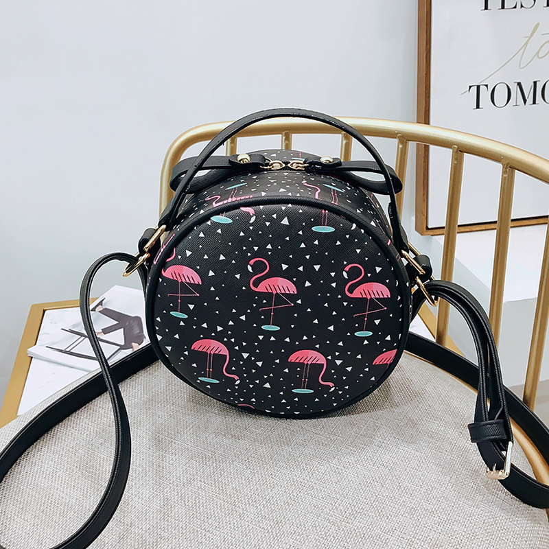 fire bag new cute little bag female bag Korean version small fresh mini small round bag female single shoulder bag