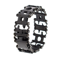 Stainless Steel Multi Tool Bracelet Wearable Multi Tool 29 Tools For Outdoors And Travel