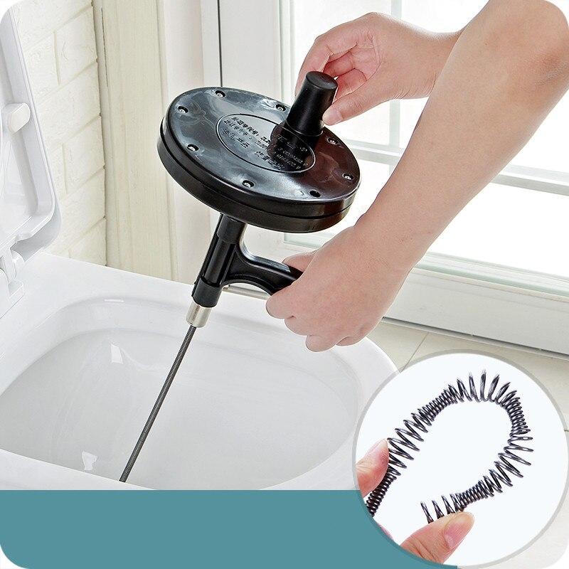 Hot new Bendable Sink Tub Toilet Dredge Pipe Snake Toilet Drain ...