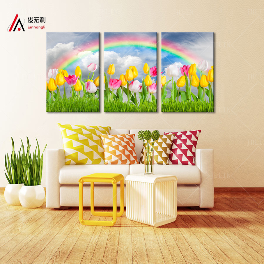 Contemporary Triptych Wall Art Canvas Picture Collection - Art ...