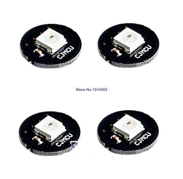 10pcs/lot 1 Bit WS2812 5050 RGB LED Full Color Drive Color Lamp Development Board