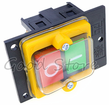 Image 3 - 1PCS KAO 5MX 10A 380V for Cutting Machine Bench drill Switch Waterproof Push Button Switch Power On/ Off Switch KAO 5-in Switches from Lights & Lighting