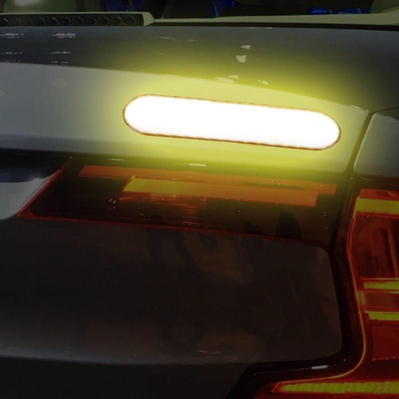 Image 2 - Car Reflective Stick Epoxy For Reflective Warning Sticker Door Anti collision Sticker Reflective Sticker New-in Reflective Strips from Automobiles & Motorcycles