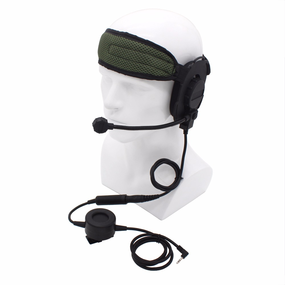 Cellphones & Telecommunications Temperate Black Hd03 Z Tactical Bowman Elite Ii Headset Waterproof Round Ptt For Motorola 1 Pin Radio T6200 Tlkr T3 T4 T5 T6 T7 T8 T60 T80