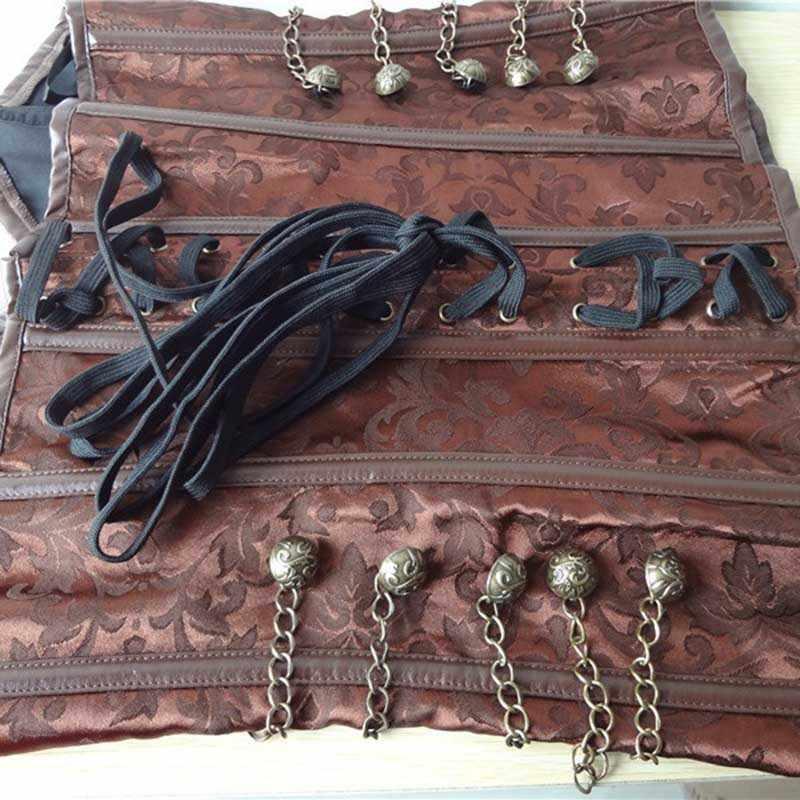 Лидер продаж; женские Корсеты с принтом в стиле ретро; корсет со шнуровкой; пикантный утягивающий Бюстье; 19ING