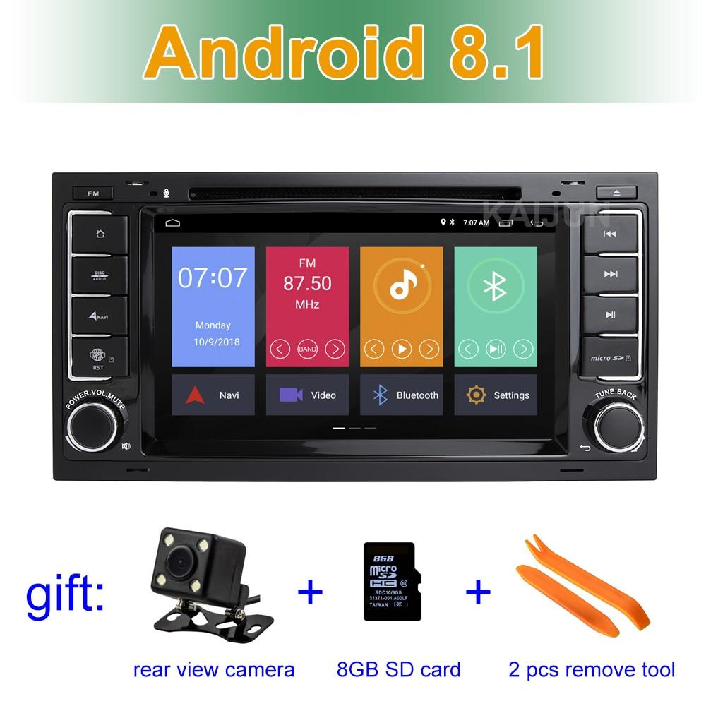 Android 8.1 Auto Lettore DVD GPS per il VW T5 Transporter Multivan Touareg con wifi BT Radio Stereo