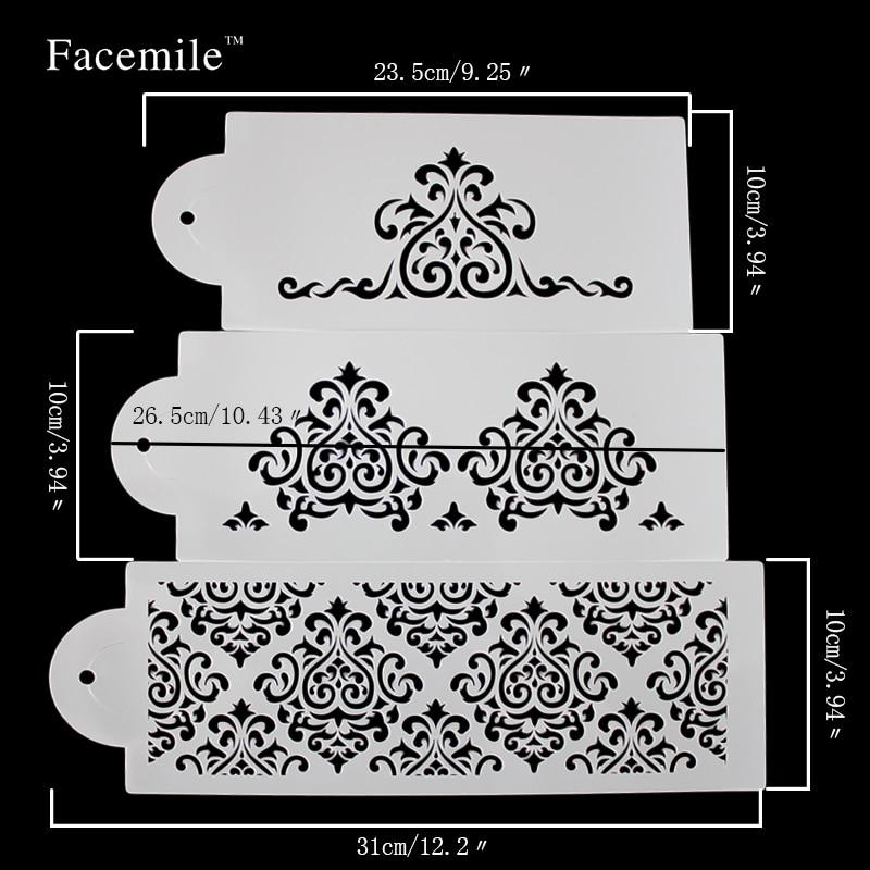 Galleta stencil herramienta de panadería fondant corona rey princesa ...