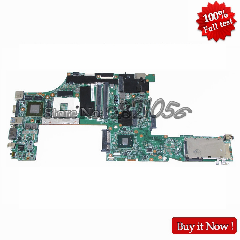 NOKOTION FRU 04W2029 Main Board For Lenovo Thinkpad W520 Laptop Motherboard 48.4KE27.051 QM67 DDR3 Quadro 2000M Video Card nokotion fru 63y1878 48 4cu06 031 laptop motherboard for lenovo thinkpad t510 qm57 quadro nvs 3100m board mainboard