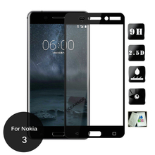 2Pcs  For Nokia 3 Full Front Cover Tempered Glass Screen Protector All Body Glass On Nokia3 TA 1020 1028 1032 1038
