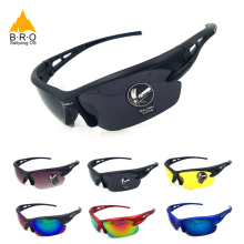 UV400 Cycling Eyewear Explosionproof Mens Sport Sunglasses W