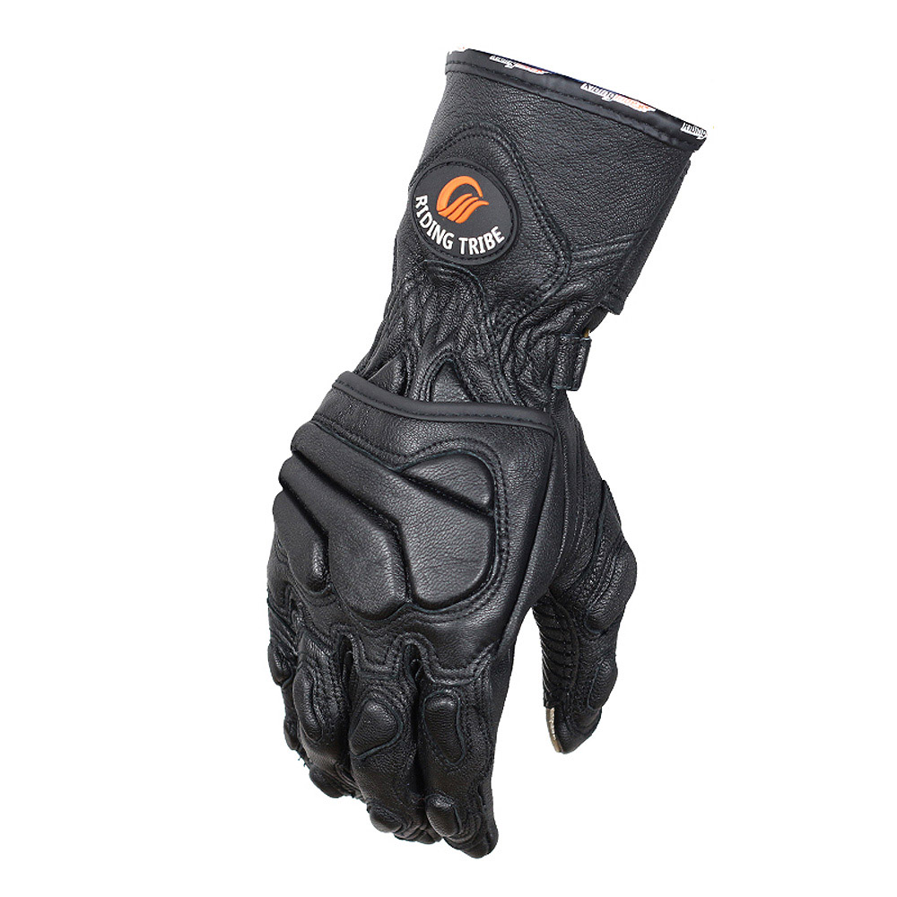 Goatskin Genuine Leather Motorcycle Gloves Winter Protection Motorcyclist Motorbike Rider Moto Racing Full Fingers Gloves накладной светильник toplight ceva tl9240y 01wh