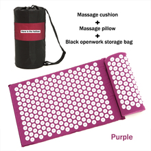 Massager Pillow Cushion Shakti Acupuncture Relieve Acupressure Mat Body Pain Spike Yoga Massage Tools