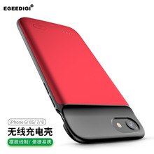 EGEEDIGI Discount Battery Charge Case For iPhone 6 6s 7 8 Plus X XR Xs Max Power Bank Charging Full Cover External Battery Pack