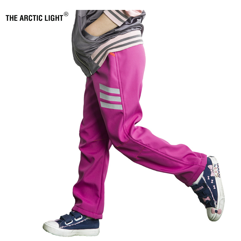 71a9d50644 El Ártico Luz de invierno de los niños de senderismo pesca senderismo  softshell pantalones de los niños al aire libre de esquí pantalones a prueba  de agua ...