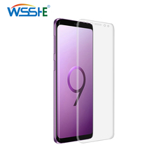 9H screen protector S10 S9 For Samsung Galaxy S10 S9 Plus S7 Edge Full Screen Transparent protector Protection Note 8 soft cover цена