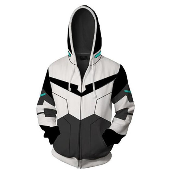 Lance Voltron Cosplay Jacket Movie Tv Costumes Harajuku  Japanese Sweatshirt Anime Hoodie  A608