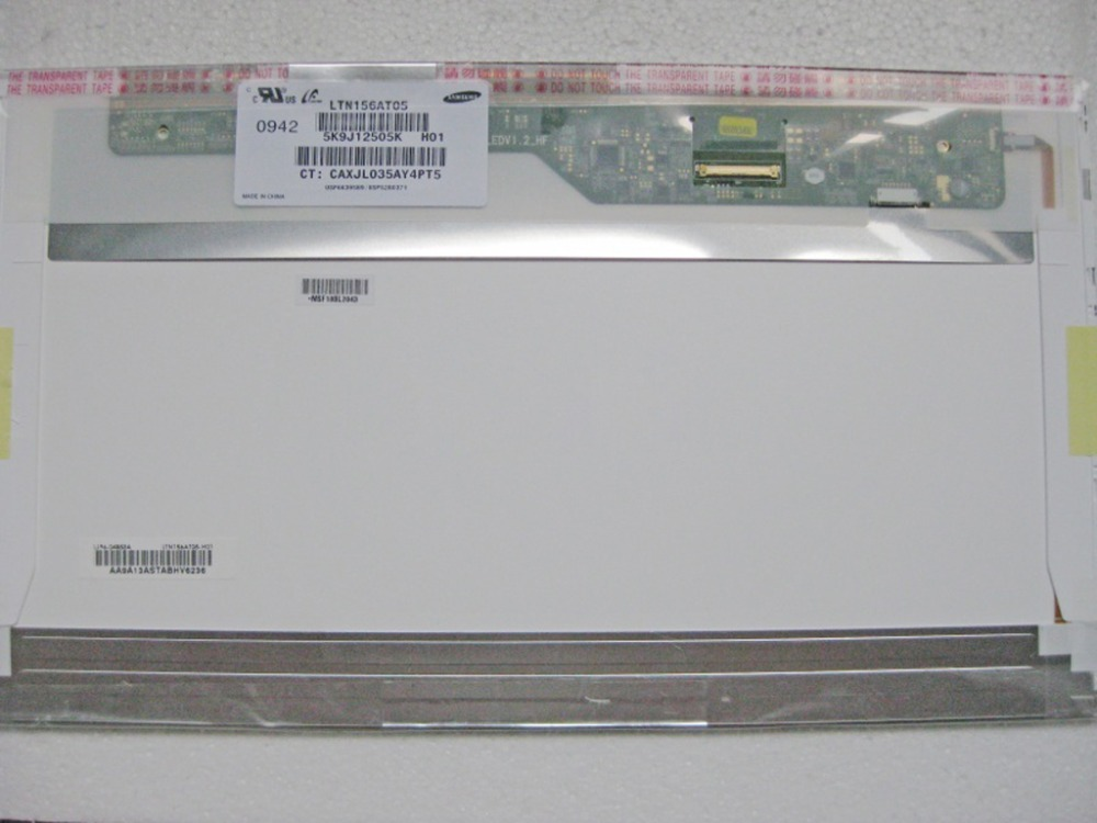 ФОТО QuYing Laptop LCD Screen Compatible LTN156AT05-H01 LTN156AT09-H03 LTN156AT09-H02 LTN156AT05-301 LTN156AT03-001 LTN156AT02-A04