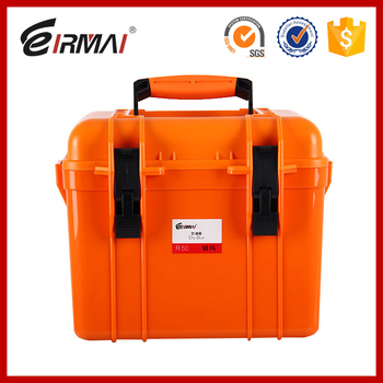eirmai R50 Hard Waterproof Plastic Case with handle dry box for dslr camera digital products dry cabinet