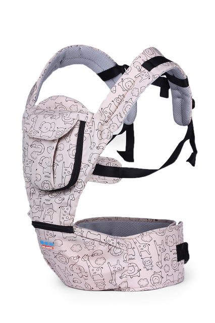 New Front & Back Baby Infant Carrier Backpack Sling Newborn Pouch Wrap 2-30 Months Multi-function baby waist stool